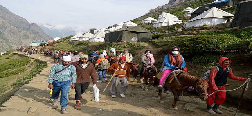 3 Night 4 Days  Amarnath Package